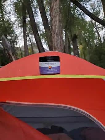 tent with Dream Lake Body Butter