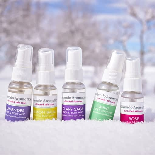 face and body mist aromatherapy set